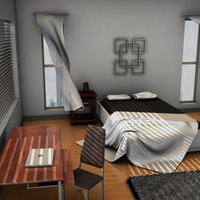 Bedroom apartment cover