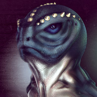 Frog fish lizard man re render by toshema d3d9irp copy cover