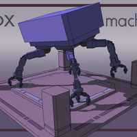 Box machine cover