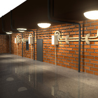 Wall lighting cover