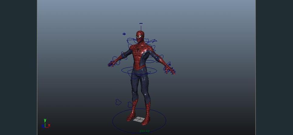 Spider man rig show
