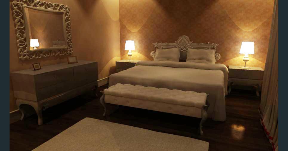 Bedroom render 10 show