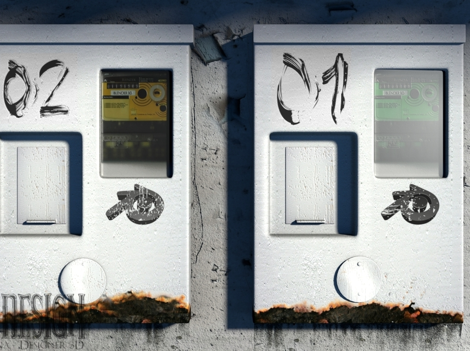 Render caixa de energia show