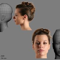 Ilona face model cover