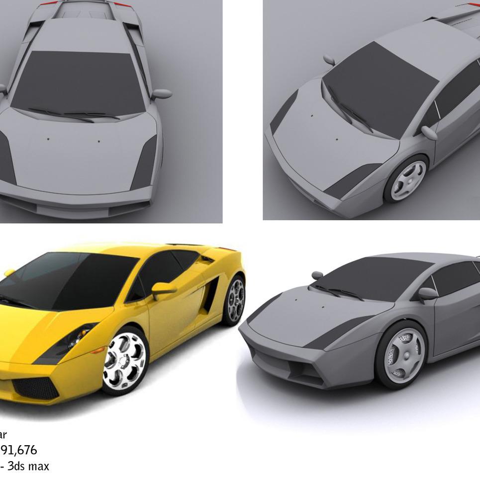 Lamborghini copy show