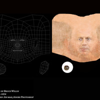 Uv of bruce willis diffuse cover
