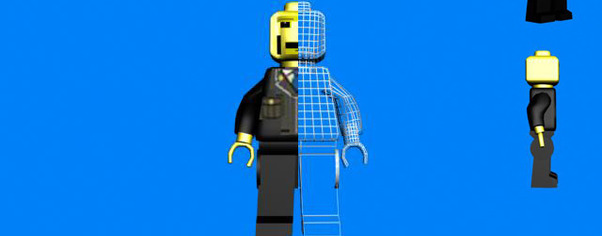 Lego cop wide