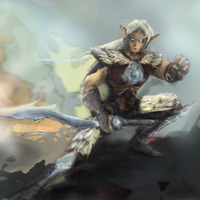 Warcraftelfconceptart cover