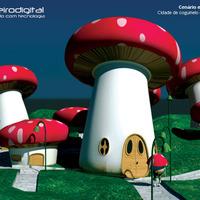 Cidade cogumelo cover