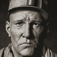 Rudymassar portrait of a miner cover