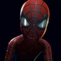 Spiderman retrato cover