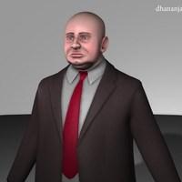 Fat businessmen cover
