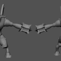 Muestra golem guerra lowpoly cover