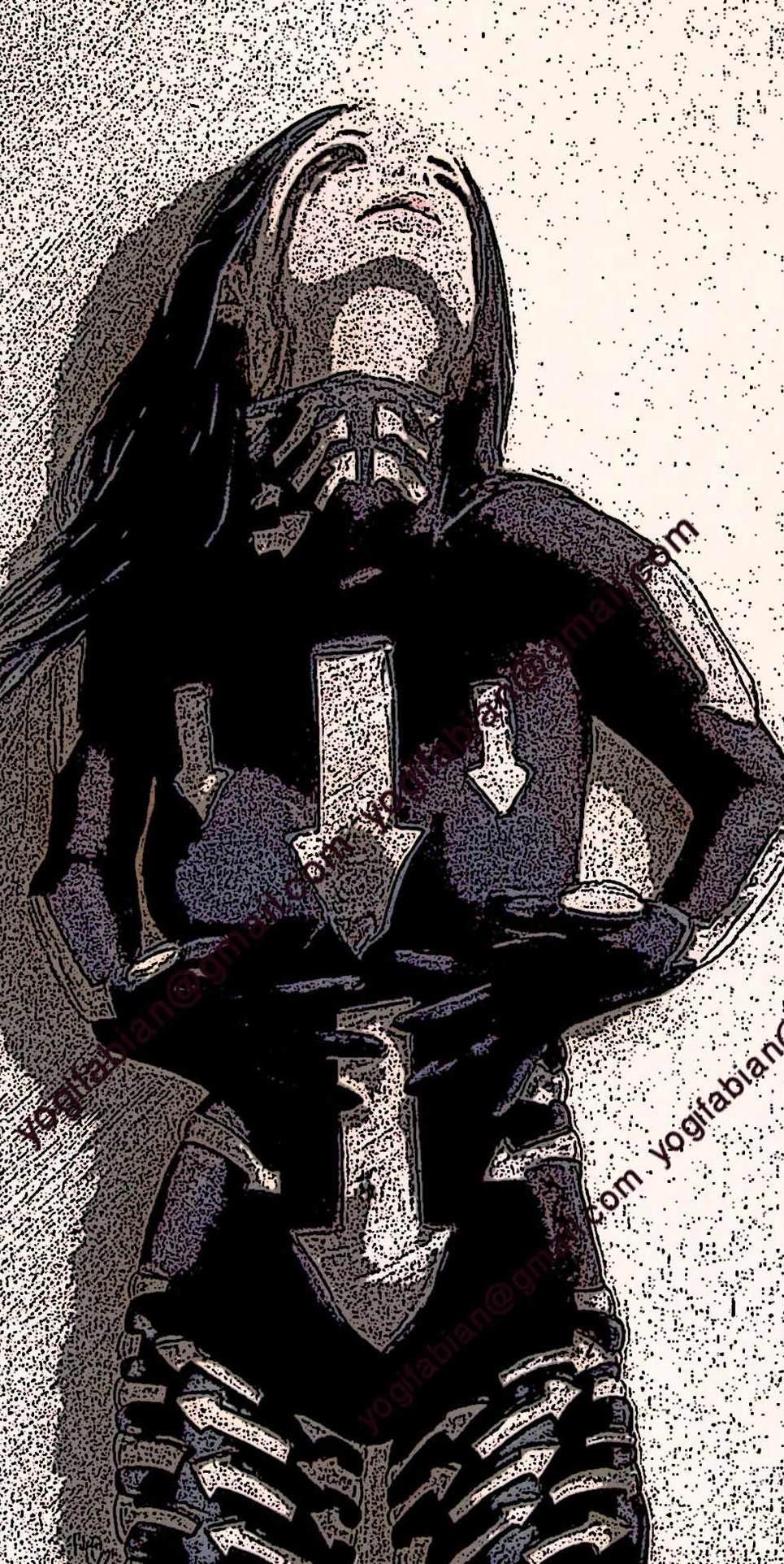 Arrows project art darker show