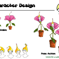 Character design chaba cover