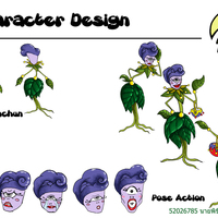 Character design unchun cover