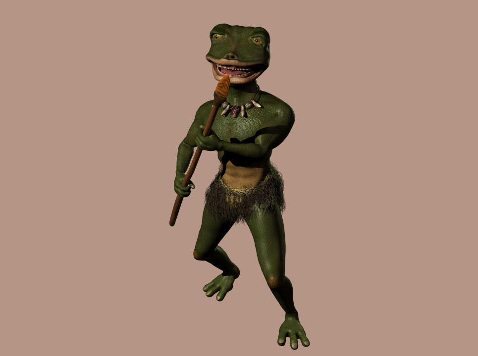 Frog test 2 35 show