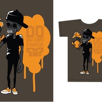 T shirt skull02 cover