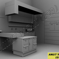 Kitchen interior cover