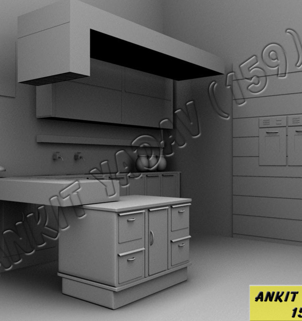 Kitchen interior show