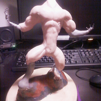 Werewolf maquette   more definition 02 cover