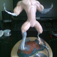 Werewolf maquette   more definition 03 cover