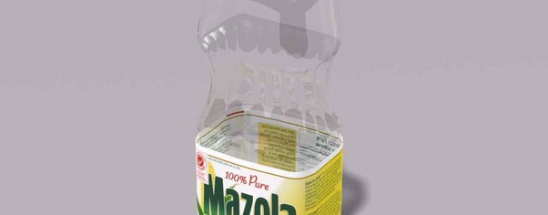 Mazola oil bottle 2 wide