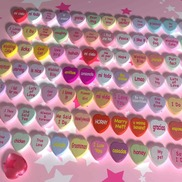 Beads and hearts small