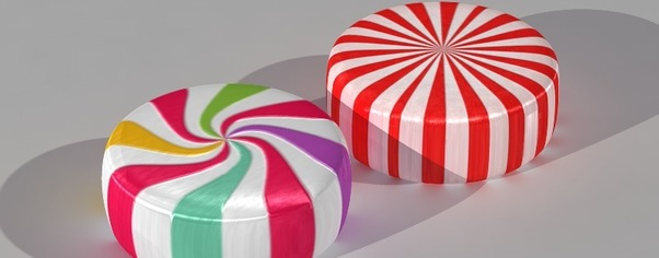 Candy starlight mints wide