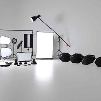 Studio kit lighting cover