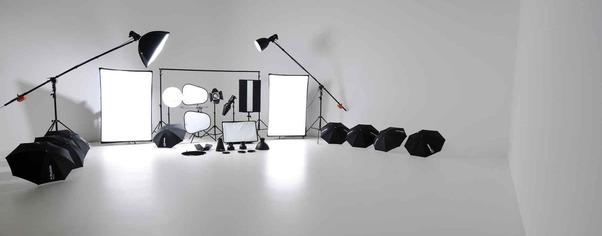 Studio kit lighting wide
