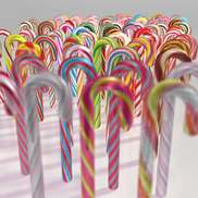 Candy canes small