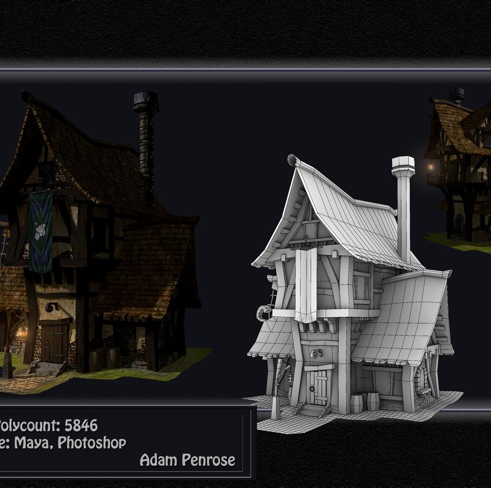 Tudor style house show