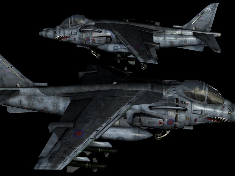 Harrier new side3 show