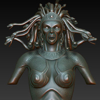 Medusa highpoly cover