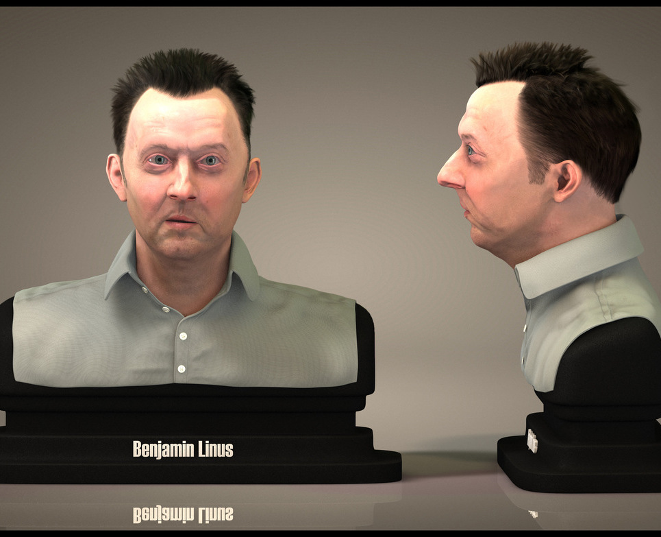 Benjamin linus bust by edercarfagnini d22hbo9 show