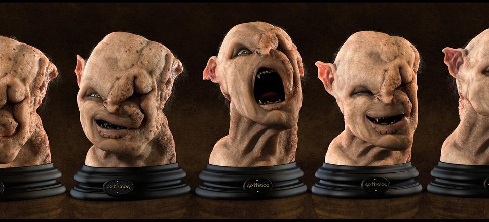 Gothmog bust  expressions by edercarfagnini d3cr8g6 show