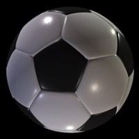 Soccer ball procedural cover