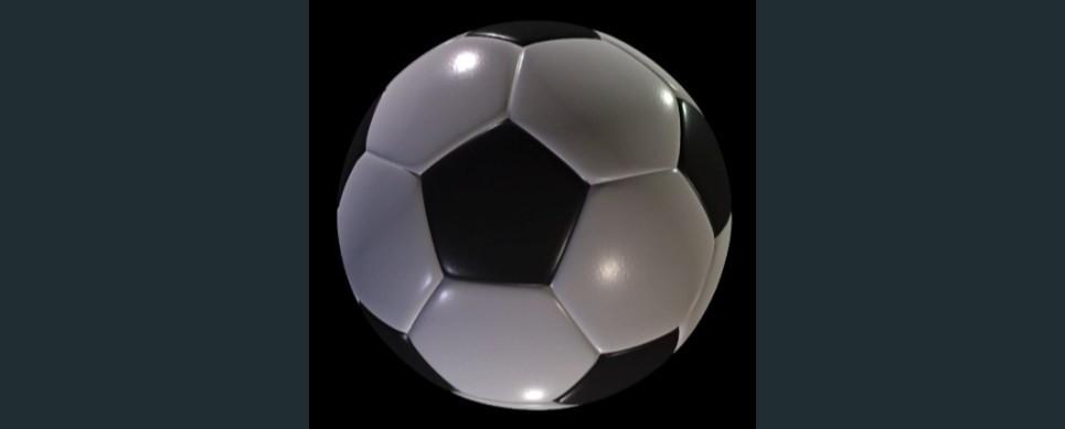 Soccer ball procedural show