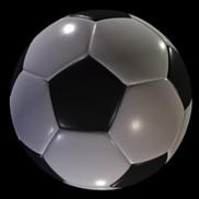 Soccer ball procedural small