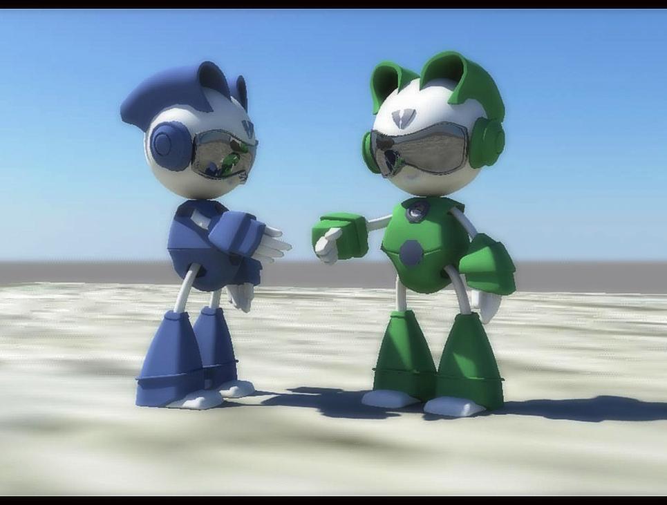 2 robots show