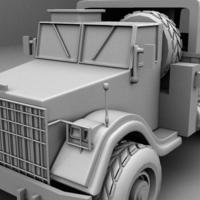 Truck modelling done cover