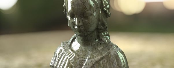 Clearcoat bust dof wide