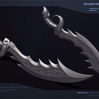 Dagger  by sergescherbakov d4nr498 cover