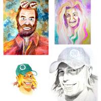 Portraits mas cover