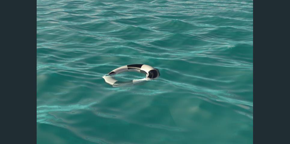 Ocean setup ffp dip below surface show