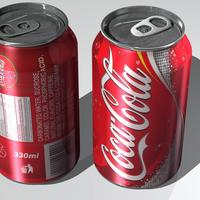 Coke can 355 ml cover