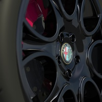 Brera rim black dof cover