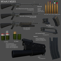 M16a3m203 summary cover