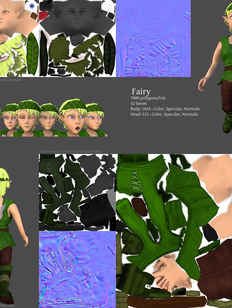 Fairy maps show